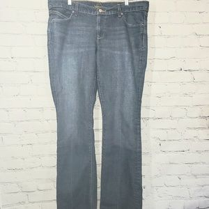 Old Navy The Diva bootcut Jean's size 14 long